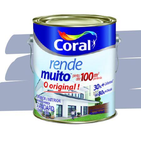 TINTA ACRÍLICA RENDE MUITO LILÁS 3,6L - CORAL