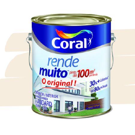 TINTA ACRÍLICA RENDE MUITO MARFIM 3,6L - CORAL