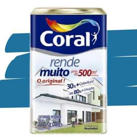 TINTA ACRÍLICA RENDE MUITO OCEANO 18L - CORAL
