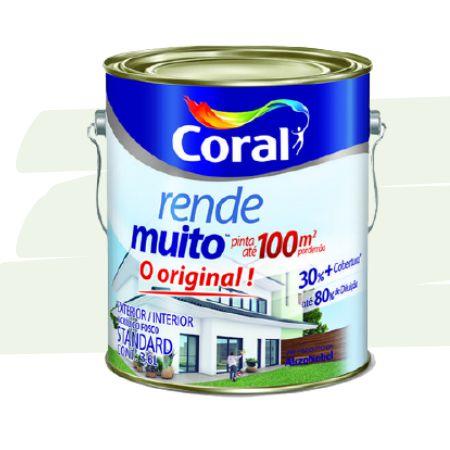 TINTA ACRÍLICA RENDE MUITO VERDE PRIMAVERA 3,6L  - CORAL