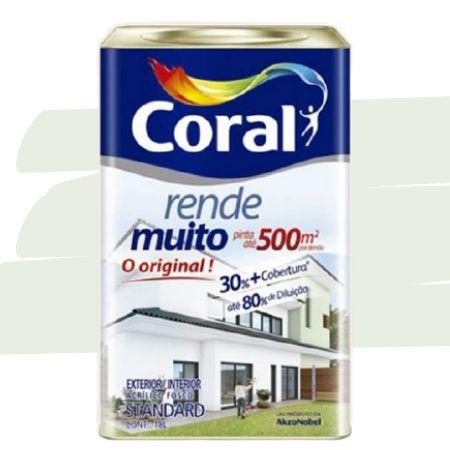 TINTA ACRÍLICA RENDE MUITO VERDE PRIMAVERA 18L - CORAL