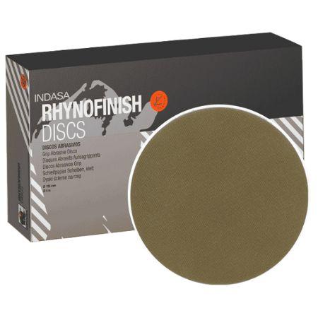 DISCO SOFT D150 15F RHYNOFINISH RED P500 - INDASA