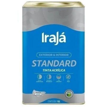 TINTA ACRILICA STANDARD LARANJA IMPERIAL 18L - IRAJA