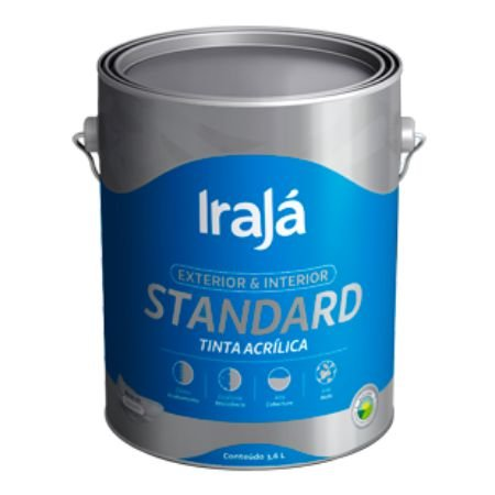 TINTA ACRILICA STANDARD PAVAO 3,6L - IRAJA