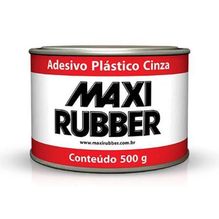 ADESIVO PLÁSTICO CINZA 500gr - MAXIRUBBER