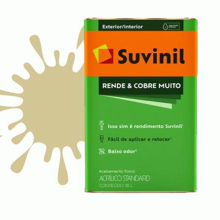 TINTA ACRÍLICA RENDE COBRE MUITO AREIA 18L - SUVINIL