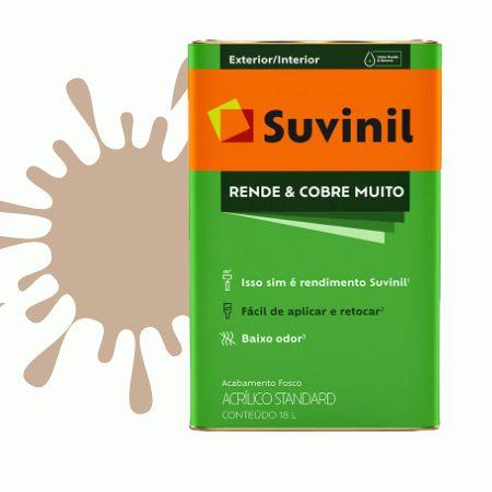 TINTA ACRÍLICA RENDE COBRE MUITO CAMURÇA 18L - SUVINIL