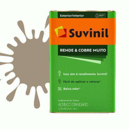 TINTA ACRÍLICA RENDE COBRE MUITO CONCRETO 18L - SUVINIL