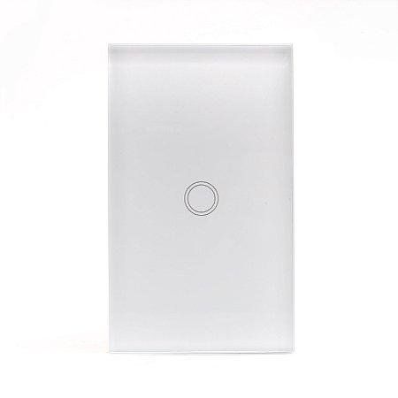 Interruptor Inteligente Wi-fi Vess Touch 4x2 - 1 Tecla