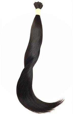 Cabelo Humano Natural Liso 50 / 55 cm 50 Gramas - TECIDO