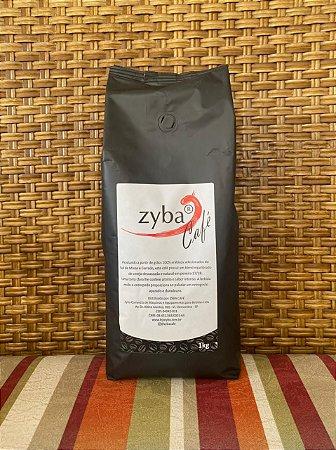 ZYBA CAFÉ EM GRÃOS PRETO