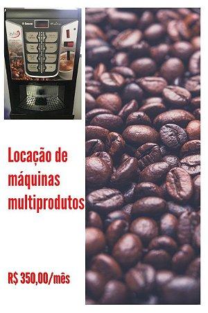 LOCAÇÃO DE MÁQUINAS DE CAFÉ MULTIPRODUTOS