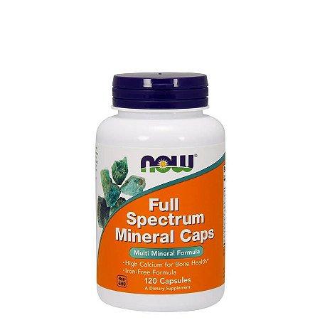 FULL SPECTRUM MINERALS - 120 CAPS - NOW FOODS