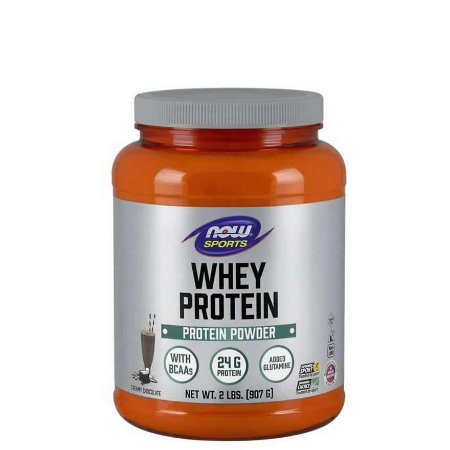 WHEY PROTEIN CHOCOLATE 2LBS/907G - NOW SPORTS - Day Offer