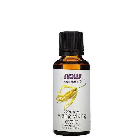 Óleo Essencial Ylang Ylang 30ml 100% Puro NOW FOODS