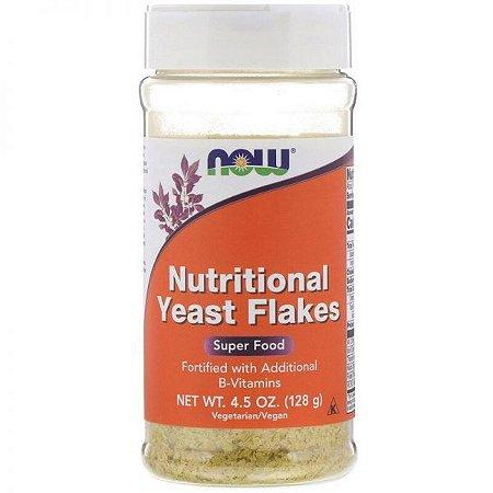 Nutritional Yeast Flakes 4.5 Oz/128G - NOWFOODS