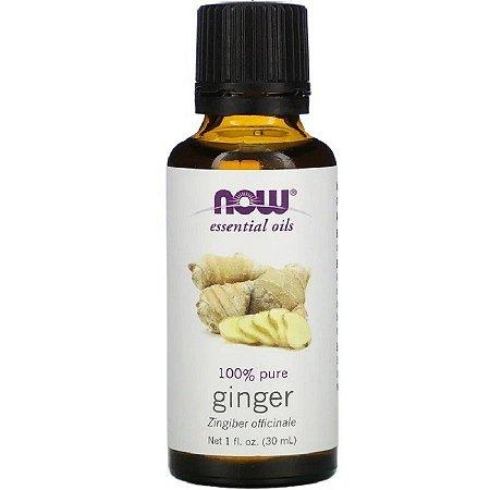 Óleo Essencial Ginger (Gengibre) 30 ml - 100% Puro - NOW FOODS