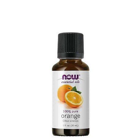 Óleo Essencial Orange (Laranja) 30 ml - 100% Puro - NOW FOODS