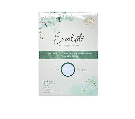 Bloco de Papel Eucalipto - 100% Eucalipto 12 fls   320g/m2   Formato A4
