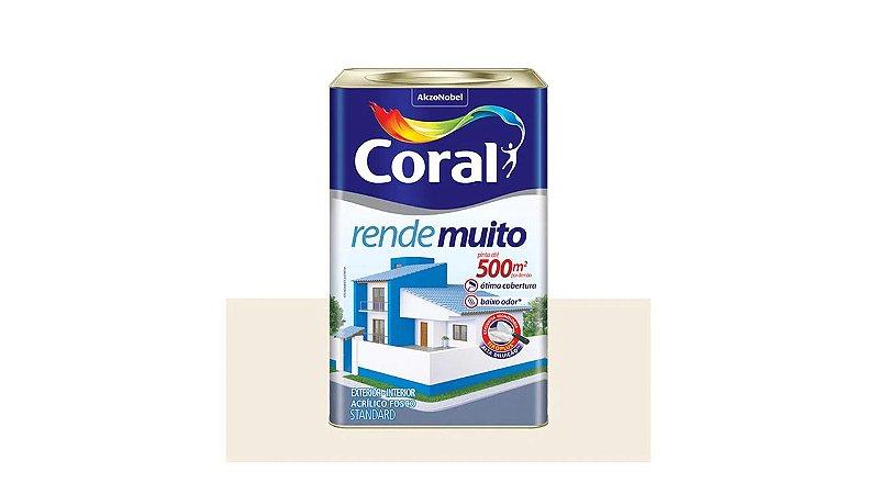 TINTA ACRILICA CORAL RENDE MUITO 18 L VERMELHO CARDINAL