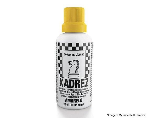 Corante Líquido Xadrez Extra 50ML Amarelo