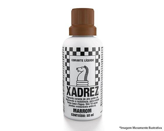 Corante Líquido Xadrez Extra 50ML Marrom