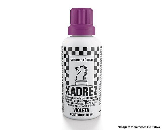 Corante Líquido Xadrez Extra 50ML Violeta
