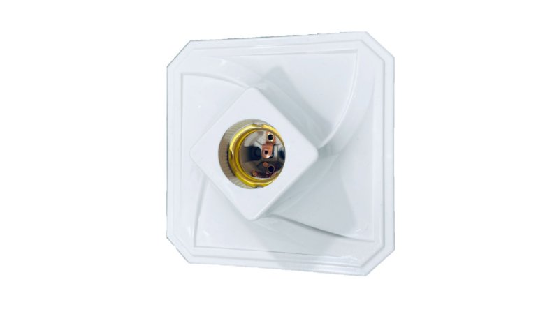 Plafon PVC Branco Quadrado