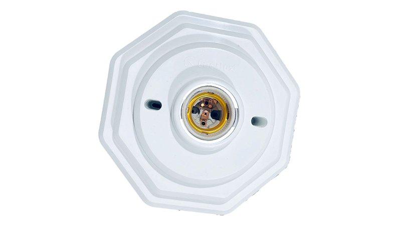 Plafon PVC Branco Octoganol
