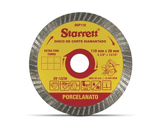 DISCO DIAMANTADO PORCELANATO DDP110 STARRET