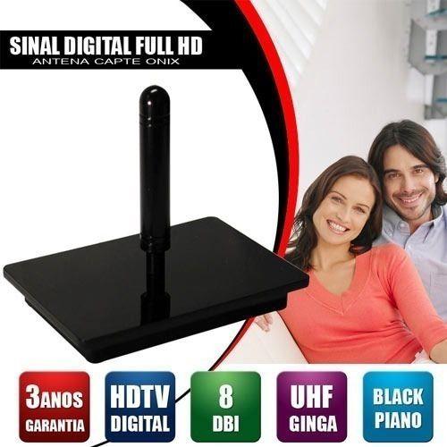 Antena Digital 4k Onix Hdtv Capte Interna