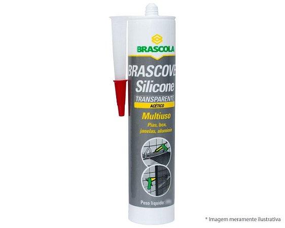 SILICONE BRASCOVED ACÉTICO TRANSPARENTE 250G