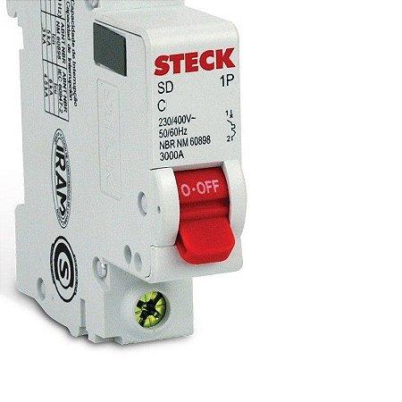 Disjuntor Steck Unipolar 32 Amperes
