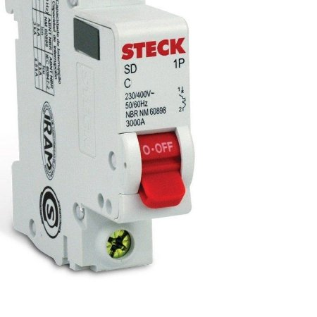 Disjuntor Steck Unipolar 10 Amperes