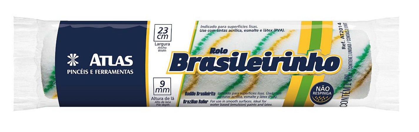 Rolo Anti-Respingo Brasileirinho 23 cm Atlas Sem Cabo