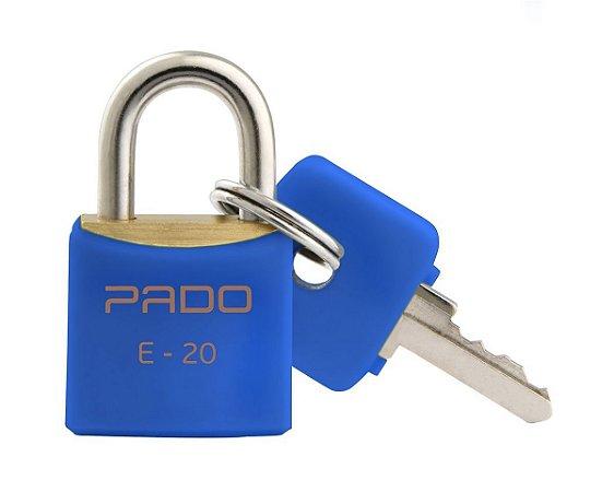 Cadeado Pado 20mm Azul