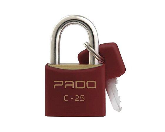 Cadeado Pado 25mm Vermelho