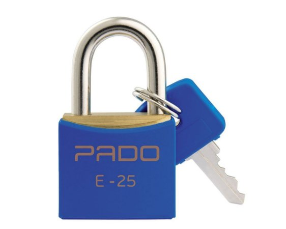 Cadeado Pado 25mm Azul