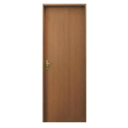 Porta Lisa De Imbuia Fechadura Tambor   80 X 210 Direita