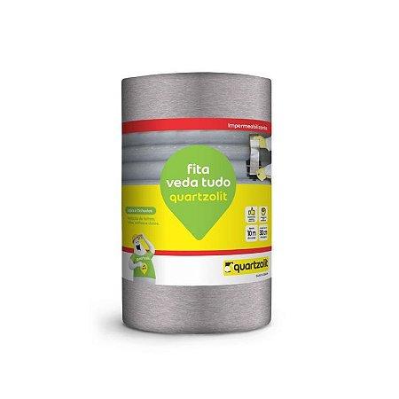 Manta Alumínio Adesiva Quartzolit  20 CM X 10M