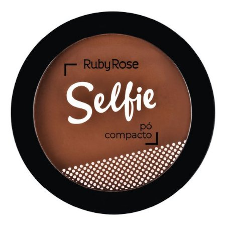 PÓ COMPACTO SELFIE CHOCOLATE ESCURO 45 - RUBY ROSE