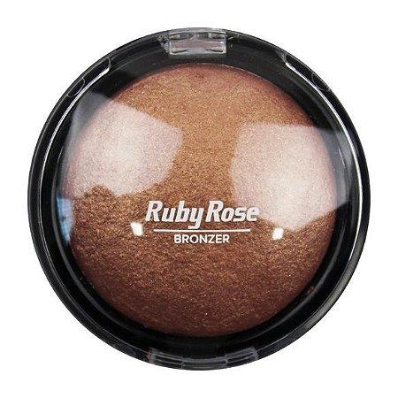 PÓ BRONZEADOR 3 GOLD - RUBY ROSE
