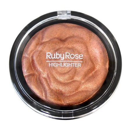 BAKED HIGHLIGHTER POWDER BRONZER - RUBY ROSE