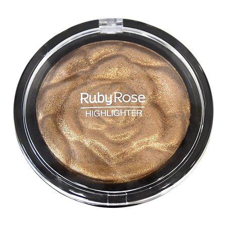 BAKED HIGHLIGHTER POWDER - RUBY ROSE