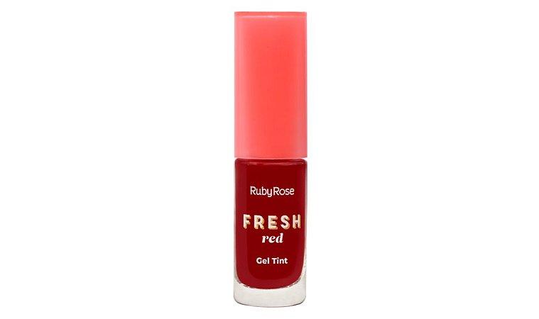 GEL TINT FRESH RED - RUBY ROSE