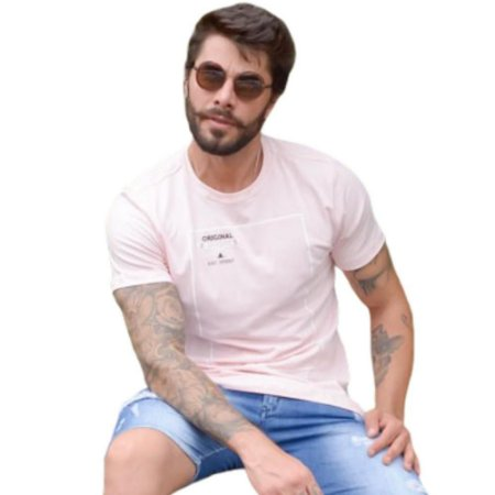Camiseta OC Caribe Rosa