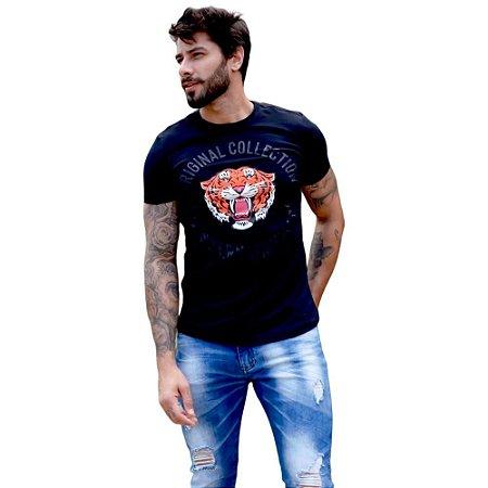 Camiseta OC Tiger Preto