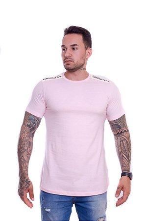 Camiseta OC Confort Patent Rosa