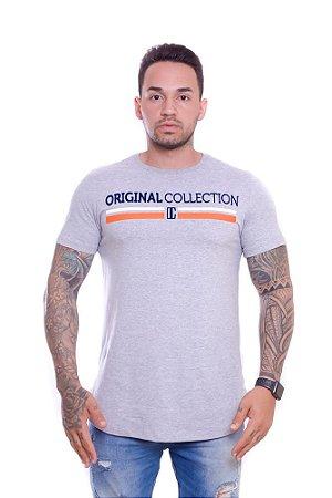 Camiseta OC Confort Oregon Cinza
