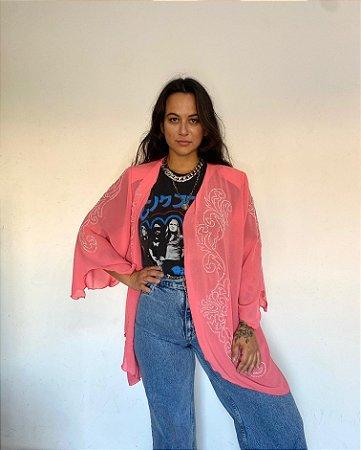 Kimono Bordado Chiclé